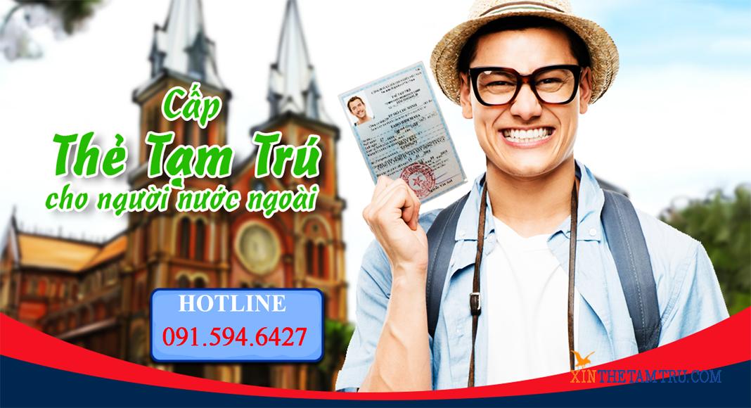 Dịch vụ làm thẻ tạm trú Việt Nam