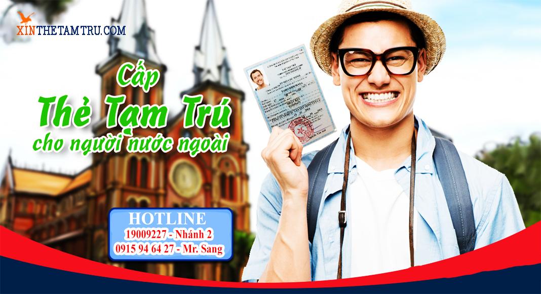 Cấp thẻ tạm trú tại Thái Dương Tourism