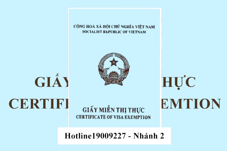 Hồ sơ gia hạn miễn thị thực 5 năm cho người nước ngoài