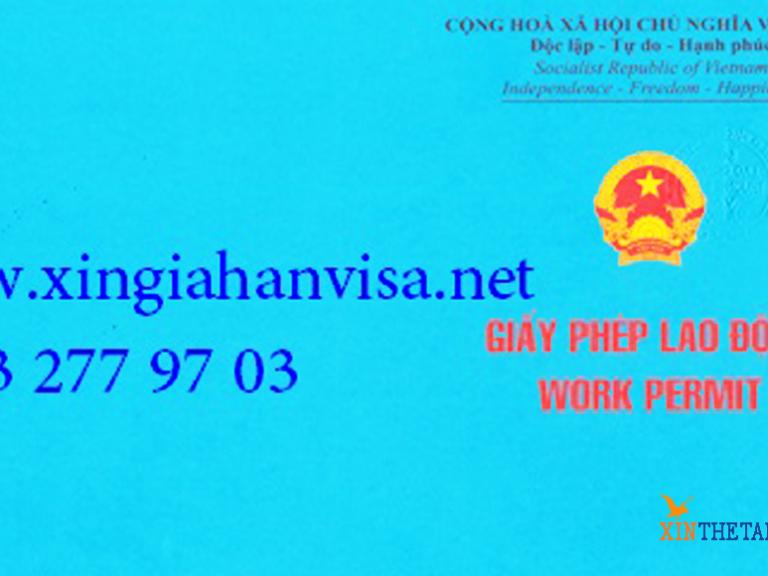 Quy trình cấp giấy phép lao động Việt Nam