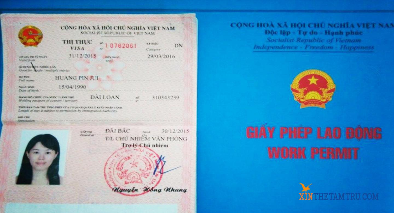 Làm giấy phép lao động cho người Hàn Quốc