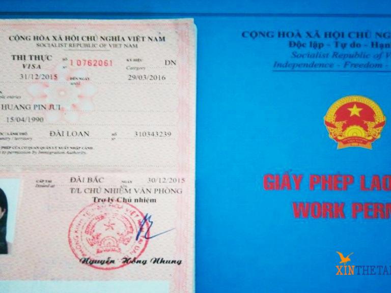 Hồ sơ làm giấy phép lao động